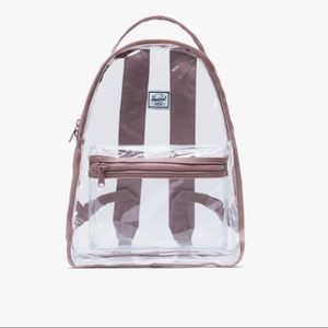 Herschel brand new with tag clear backpack